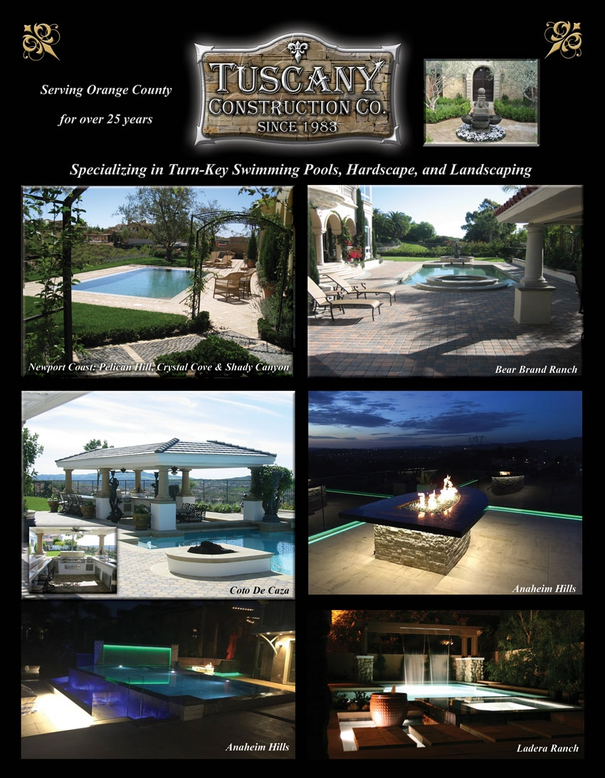 Residential Landscape Contractor Custom Swimming Pool